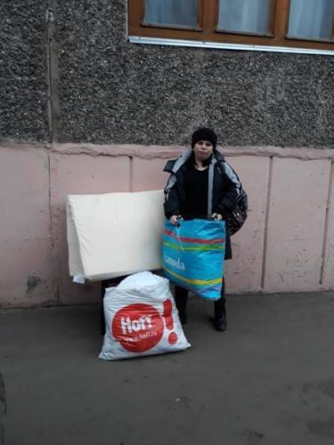 Выдача социальной помощи, декабрь 2019 г.